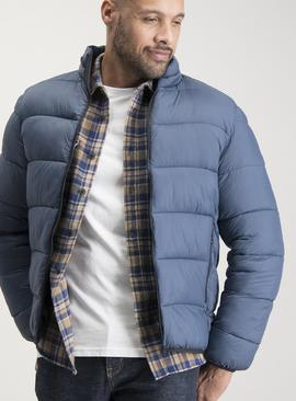 Blue Eco Thermolite Thermal Padded Coat