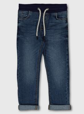 Blue Midwash Denim Jeans