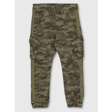 Khaki Camo Cargo Trousers