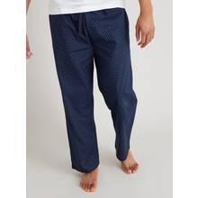 Navy Geo Print Pyjama Bottoms