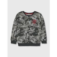Grey Camouflage Sweatshirt