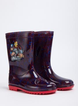 Online Exclusive Marvel Avengers Blue Wellies