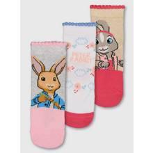 Peter Rabbit Multicoloured 3 Pack Socks