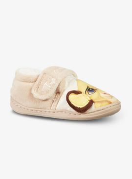 Disney The Lion King Cream Slippers