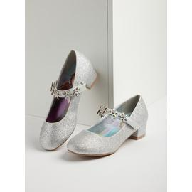 Online Exclusive Disney Frozen 2 Silver Heeled Shoes