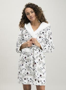 Disney Minnie Mouse Cream Dressing Gown