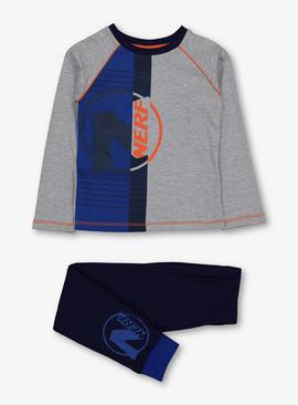 Nerf Grey & Navy Pyjamas