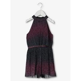 Purple Ombré Glitter Playsuit