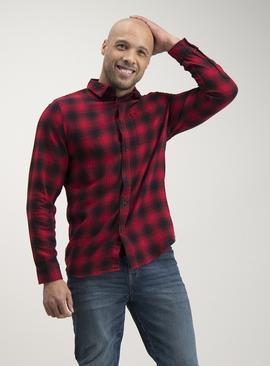 Red Buffalo Check Regular Fit Shirt