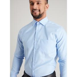 Blue Royal Oxford Pure Cotton Tailored Fit Shirt