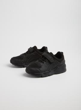 Black School Trainers