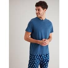 Blue Sailing Boat Print Shortie Pyjamas