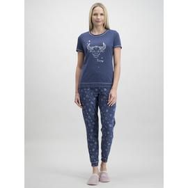 Online Exclusive Navy Taurus Star Sign Pyjamas
