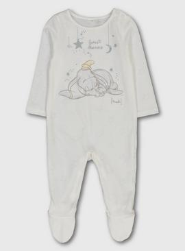 Disney Dumbo Cream Sleepsuit