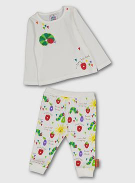 The Very Hungry Caterpillar White Pyjamas