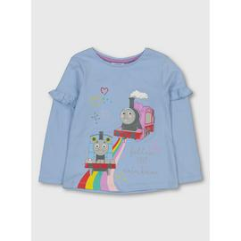 Thomas The Tank Engine Blue Frilled Top