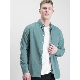 Aqua Corduroy Regular Fit Shirt