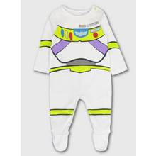 Disney Toy Story Buzz Lightyear White Sleepsuit
