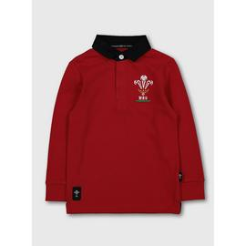 Wales Red Rugby Shirt