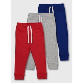 Multicoloured Joggers 3 Pack