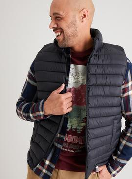 Black Eco Thermolite Shower Resistant Gilet