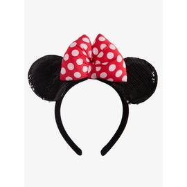 Disney Minnie Mouse Sequin Ears Headband - One Size