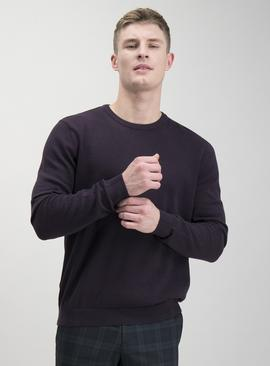 Oatmeal Crew Neck Jumper