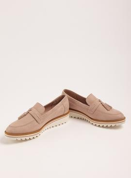 Sole Comfort Blush Pink Sporty Sole Loafers