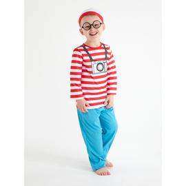Where's Wally Red Costume Set