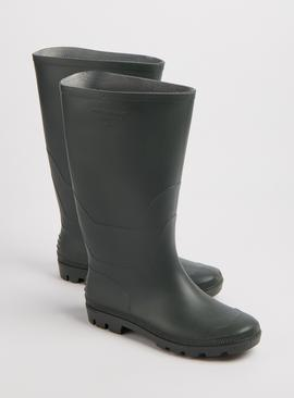 Khaki Plain Wellies