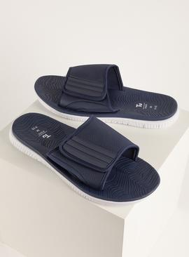 Navy & White Adjustable Pool Sliders