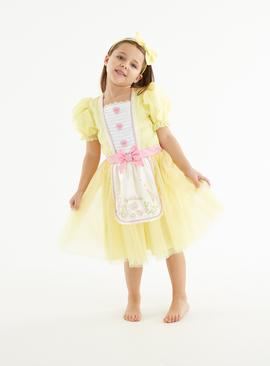 Yellow Goldilocks Fancy Dress Costume