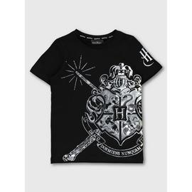 Harry Potter Black Sliver Graphic T-Shirt