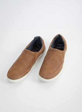 Sole Comfort Tan Slip On