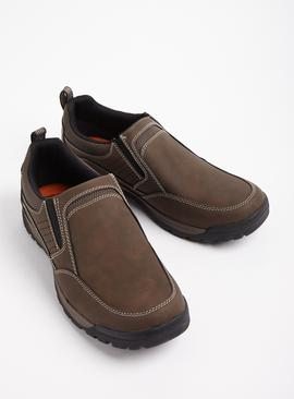 Sole Comfort Brown Slip On Shoes