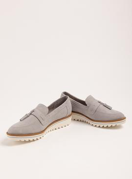 Sole Comfort Grey Sporty Sole Loafers
