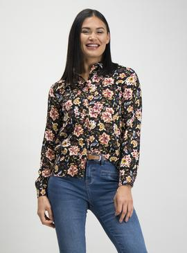 Multicoloured Floral Print Shirt