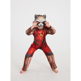 Marvel Guardians Of The Galaxy Rocket Raccoon Costume