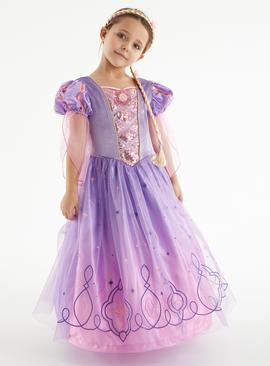 Disney Princess Purple Rapunzel Costume