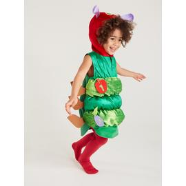 The Very Hungry Caterpillar Green Costume - 5-6 years