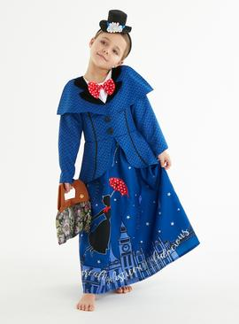 Disney Mary Poppins Blue Costume