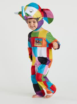 Elmer Multicoloured Costume