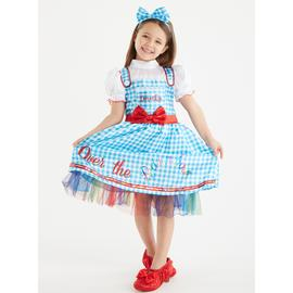 The Wizard Of Oz Dorothy Blue Gingham Costume - 5-6 years