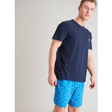 Blue & Navy Surfer Shortie Pyjamas