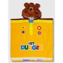 Hey Duggee Yellow Poncho Towel - One Size