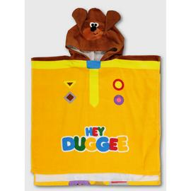 Hey Duggee Yellow Poncho Towel - One Size