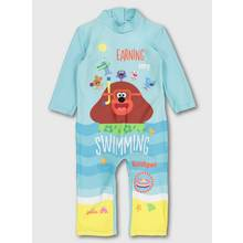 Hey Duggee Blue All In One Swimsuit