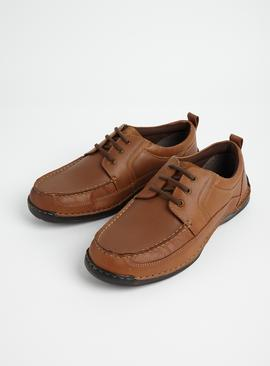 Sole Comfort Brown Casual Lace Up Shoe