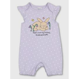 Lilac That's Not My Bunny... Romper