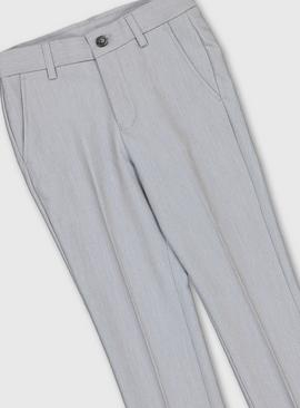 Pale Grey Formal Trousers